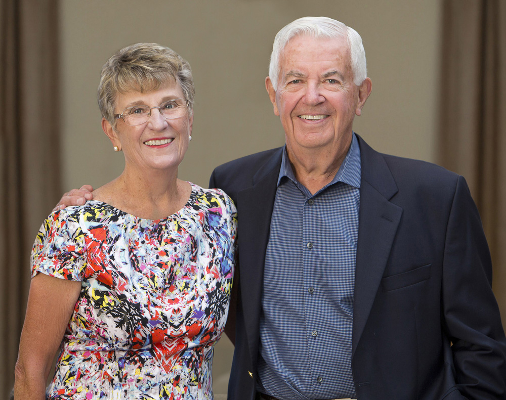 Joyce and Bill Cummings, founders of Cummings Foundation